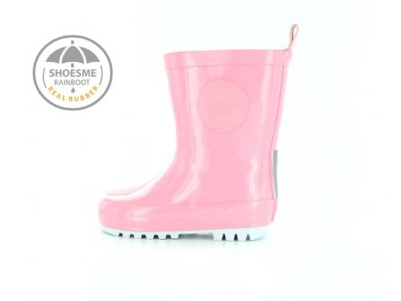 ShoesMe WELLIES with fleece sock (Rose Pink)